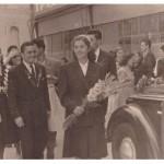 1951. godina, venčanje u Novom Sadu