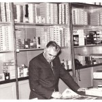 1962. Toša Atanacković as sales manager at photo supplies store